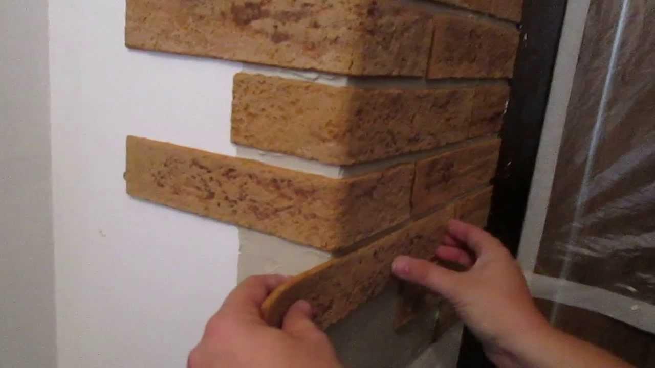 Как положить декоративный камень своими руками